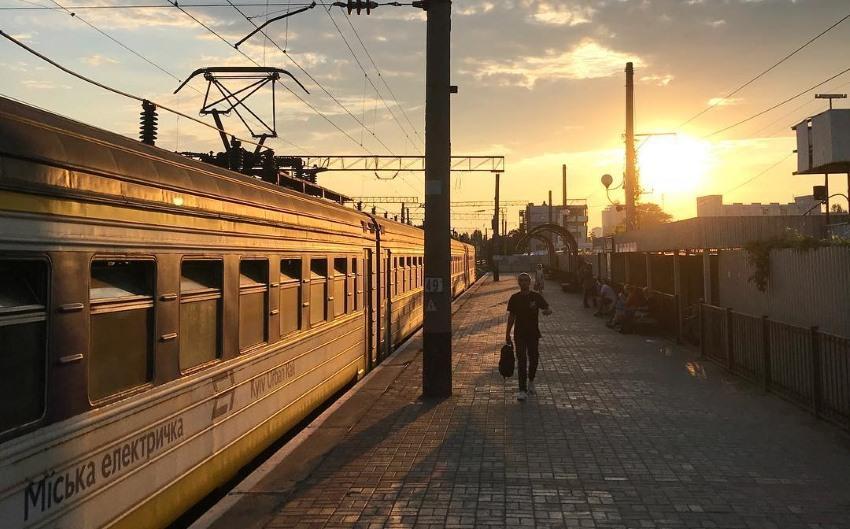 Временно отменяется кольцевое движение киевской электрички